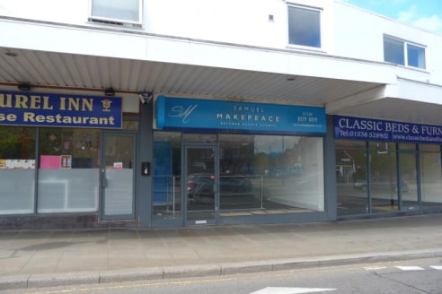Unit 5 comprises of a ground floor retail premises with first floor storage accommodation with excellent frontage onto Ashbourne Road.\n\nThe property is accessed via a pedestrian door leading to the showroom with first floor storage and WC's....