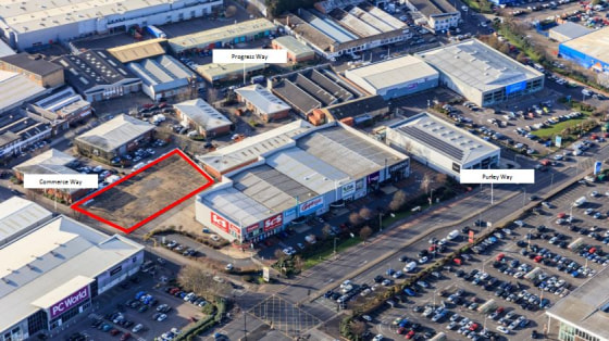 A strategic and prominent 0.5 acres situated close to the A23 of Purley Way retail area and the main industrial estates of Croydon.  Pre lets are sought for a new build unit subject to planning. Suitable uses may include showrooms, trade counter, ret...