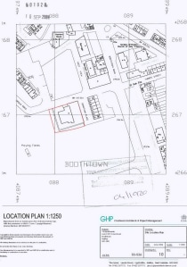 The land comprises a rectangular shaped site extending to approximately 0.11 Hectare (0.27 Acre).