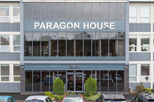 The Thirlmere Suite offers superb first floor office accommodation within the well established Paragon Business Park.  The suite benefits from perimeter trunking, air conditioning and gas central heating and is fitted out to a high standard.  Ample p...