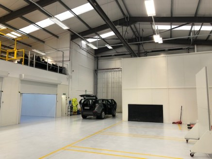 Unit B with a frontage to Wheler Road was completed in circa 2010 and is of conventional steel portal frame construction with profile metal sheeting to walls and roofs, lined internally. The single-span detached unit has been constructed in such a wa...