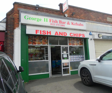 Leasehold Fish & Chip Takeaway Located In West Heath\nRef 2392\n\nLocation\nThis established Fish & Chip Takeaway is located in West Heath, Birmingham. Situated within a prominent and highly visible trading position on Alvechurch Road....