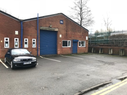 The estate comprises 11 industrial/trade counter units in two terraces. The units are of steel portal frame construction, with brick block elevations. The unit will be refurbished and will comprise a mainly open plan warehouse, with WC facilities....