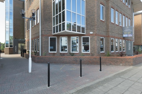 - High quality town centre offices  - Refurbished to a top specification  - New entrance with contemporary reception  - 59 Basement car parking spaces