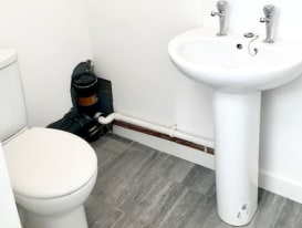 The property comprises a ground floor lock-up shop, which has recently been extended, and is undergoing refurbishment to a shell condition.<br><br>Pipework is in situ for gas fired central heating, and lighting tracks are in situ above the ceiling, r...