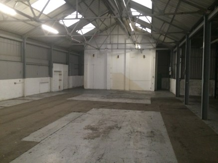 Premises comprise of a refurbished industrial / warehouse unit with a concrete floor with a profile steel clad roof with double skin Filon roof lights. The main area has a steel truss roof with the remaining section being steel framed. Access is via...