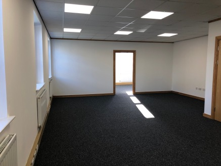 The Suite provides modern office accommodation with a specification as follows:- - Perimeter trunking for Power and Data - Suspended Ceiling - Double Glazed Windows - Male, Female and DDA WCs - Reception/entrance lobby - Kitchenette - Fully carpeted....
