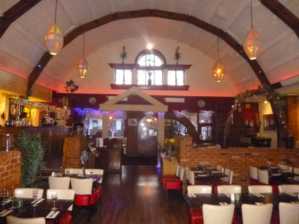 The property comprises a unique Grade II listed building built in the 1930's which was formerly used as a billiards hall and Indian restaurant. The restaurant is fit out to a high standard throughout keeping the buildings character with exposed timbe...