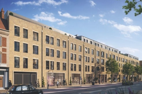 Finsbury Park Station is approximately 1 mile to the east of the subject site and numerous bus routes run along Seven Sisters Road.   Comprises a commercial unit on the ground floor of this new mixed-use development.   The space has the benefit of A1...