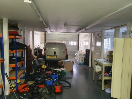 Light industrial / warehouse with first floor offices and parking  Total size 163.40 sq m (1,759 sq ft)