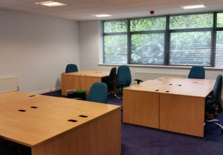 The premises are configured over two floors and comprise modern, highly flexible serviced office accommodation providing the capability for accommodation for single occupiers through to open plan suites spanning a whole floor. Communal modern kitchen...