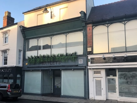 Retail investment opportunity in Bromsgrove Town Centre. Four ground floor retail units currently producing £45,000 per annum. Located within 3 miles of Junction 4 of the M5 and Junction 1 of the M42 motorways.