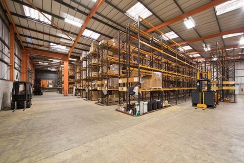 Warehouse Space - To Let - High Eaves and Large Forecourt