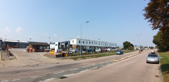 INDUSTRIAL WAREHOUSE<br><br>The site is regular in shape and extends to approximately 2.49 acres and occupies a prominent corner plot position with the benefit from two points of vehicular access to the site directly from Freebournes road and Wheaton...