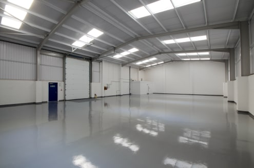 * Comprehensively re clad and refurbished warehouse unit with Offices   * Eaves height 5.75m   * Provision of gas and three phase electrics in the warehouse area    * Lighting in the warehouse area    * Heating, lighting and carpeting in the office a...