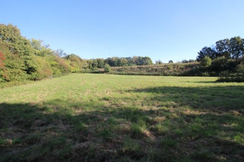 A single parcel of pasture on the outskirts of Langton Green village. Permission for an agricultural building. Lane frontage - No public footpaths. In all about 8.76 acres (3.