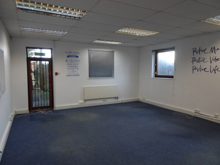 Office Accommodation with Parking  Total Size 71.12 sq ft 765 sq m