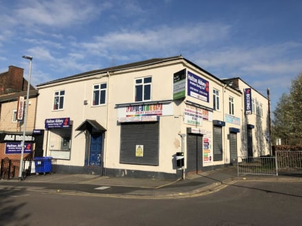 The subject property comprises an two-storey, end terrace property previously occupied as a gym and retail premises. The property is constructed of traditional masonry with render painted elevations beneath a pitched tiled roof to the front and flat....