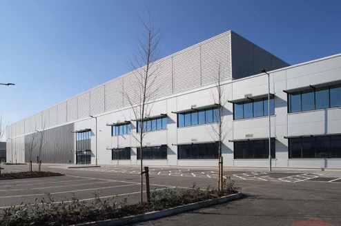 BREEAM ''very good''. 12m clear height. 50kN/sqm floor loading. 15% roof lights. 11 dock level access doors & 2 level access doors. 745kVA electricity supply. Offices fully finished to Cat A standard, with 8 person lift, heating and comfort cooling....