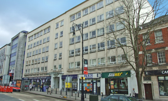 The property comprises a modern mixed-use building providing high quality,   newly refurbished modern offices, meeting rooms and business facilities.