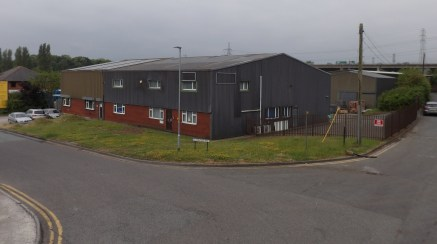 UNDER REFURBISHMENT  A semi-detached industrial / warehouse unit close to Junction 12 of the M56.  5,353 sq ft  Rental - £27,000 per annum