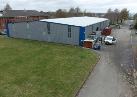 A detached industrial / warehouse unit suitable for alternative uses opposite Croft Retail Park  *To be refurbished*  18,289 sq ft  Leasehold - £96,000 per annum