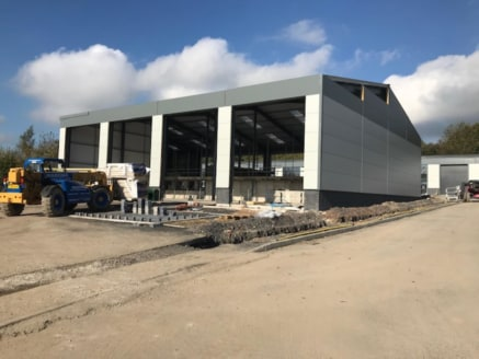 The Blackburn Road development comprises 3 blocks of workshop space providing a series of units from 1,550 sq.ft up.<br><br>Unit 3 has the benefit of feature brick, glazed and steel clad walls under an insulated pitched roof incorporating clear panel...