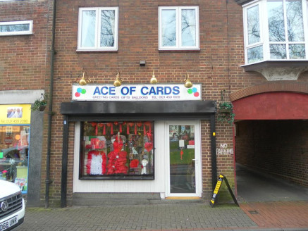 Greeting Cards/Balloons & Gifts Located In Kings Norton\n\nRef 2330\n\nLocation\n\nThis established Greetings Cards business is located within a prominent and highly visible parade on The Green in Kings Norton, Birmingham. This historic village occup...