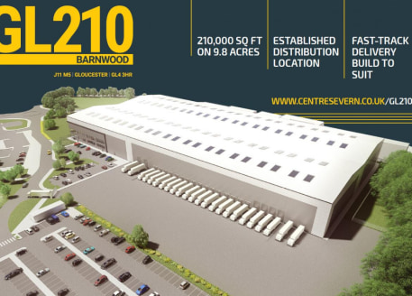 200,000 sq ft of detached logistics warehouse, 10,000 sq ft of two storey offices. 20 Dock and 4 level access loading doors. 50kN/m2 floor loading capacity, 12m to underside of haunch. 10,000 sq ft of fully fitted offices. 50m secure self-contained y...