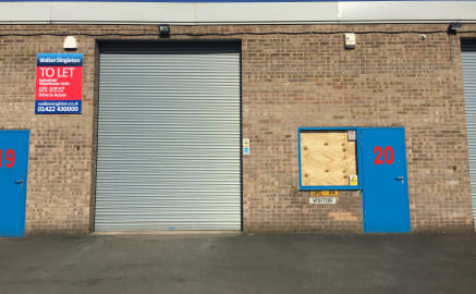 The properties comprise terraced industrial units clad in brick with  drive-in access provided by steel roller shutter doors. Internally the properties have solid concrete floors throughout, fluorescent strip lighting and also benefit from toilet blo...