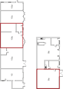 Industrial/Warehouse Unit  Size - 758 sq ft