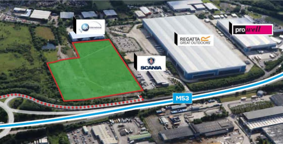 Design & Built opportunities up to 230,000 sq ft. Pre-let opportunities next to major Motorway Junction. Located between Junctions 7 & 8 of the` M53. Planning in place. Plots serviced and ready to go.