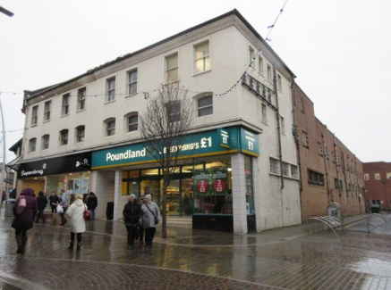 Large prime retail unit in Barrow town centre. Suitable for a variety of A1, A3, A4, A5 uses, subject to planning. Terms: Rent: £55,000 p.a. Size: 1572....