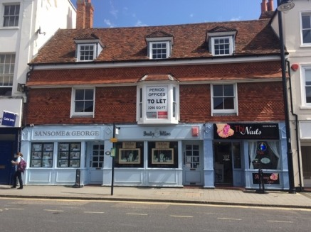 Ground floor retail property which comprises open plan retail space with tea point and separate WC to the rear.  The property includes display window to the front, recessed doorway, spot lighting, tiled floor and rear access.