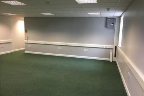 Modern multi-let office building located close to the town centre, public car parks and rail links. Suitable for B1 office use or D1 training. The suites are available due to relocation of a single occupier, suites are to decorated and carpeted. Ther...
