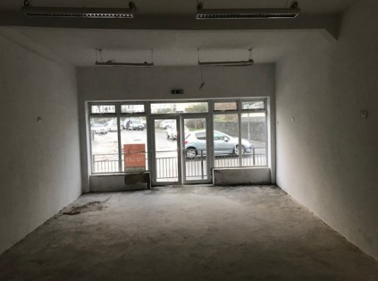 A well located double fronted ground floor lock-up shop premises situated within a convenient parade with both WC and storage facilities located to the rear.