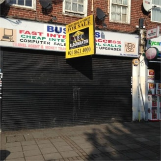 FREEHOLD MIXED RESIDENTIAL BUIDING\nA substantial 1,200 square feet retail unit on Deansbrook Road shopping parade, with a four bedroom duplex apartment above. The ground floor offers scope to add a residential unit at the rear, STPP....