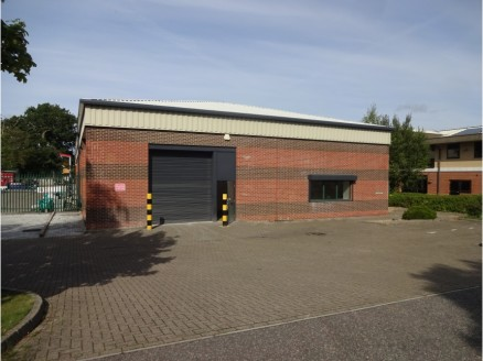 The building provides newly refurbished industrial warehouse accommodation with ground floor offices. The property benefits from a solid concrete floor in the warehouse as well as a front roller shutter entrance.