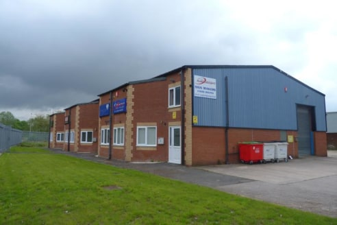 The unit forms one of five units fronting Browning Way. The front section consists of refurbished ground floor office, reception, kitchen & WC. The first floor provides an open plan office with carpet covering, suspended ceiling with integrated LED l...