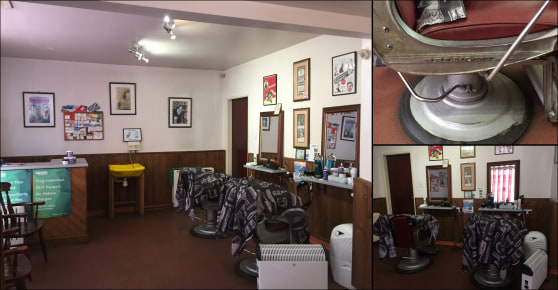 An established FREEHOLD PROPERTY barbers BUSINESS with EQUIPMENT.  The sales area extends to approximately extends to 21 m2 (226 ft2) with an additional store. The unit is well presented with spot lighting, waiting area, sales counter wash point and...
