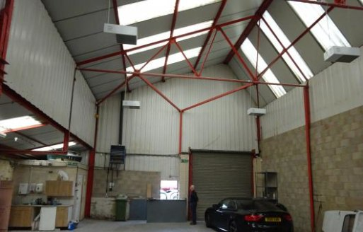 Location\n\nThe property is prominently located on the A457 Sedgley Road West, close to the junction with the A4037 Hurst Lane.\n\nDescription\n\nThe workshop is of steel framed construction with brick/blockwork and metal profiled sheeted walls surmo...
