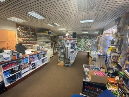 The property comprises a ground floor retail / office unit set within a two-storey brick built building with pitched tiled roof.  Externally the shop includes entrance doorway and two display windows. Internally the property comprises carpet to the f...