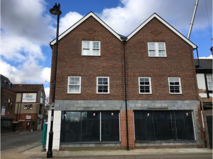 Key Features * Edge of prime location * Gas & Electric * Fitted Shop Front * Parking * Screed Floor Location The premises are located in an edge of prime town centre retail position close to Sainsbury's. The Church Road car park is within 100 yards t...
