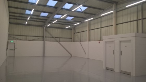Light industrial/warehouse unit  Located close to the A26 and A27 road links