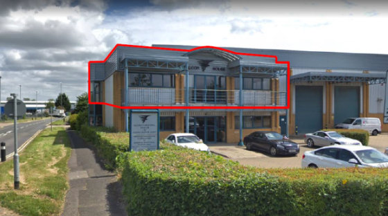 Modern, high quality first floor offices located in the popular Brackmills Industrial Estate. The offices benefit from LED lighting, gas fired radiators and perimeter trunking. There is a large meeting room with a balcony....