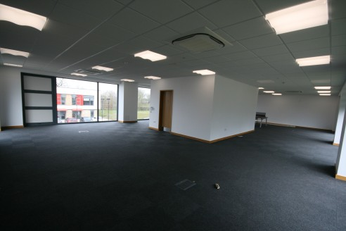 The first floor of a detached Grade A two storey office building offering open plan accommodation and benefiting from central heating/ comfort cooling and brick/glazed elevations which provide excellent levels of natural light and a fresh modern work...