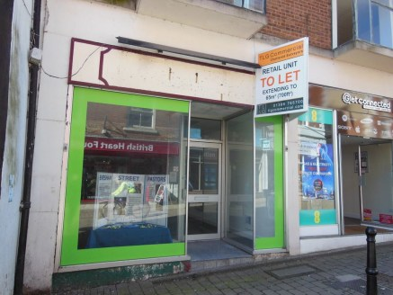 Ground Floor Retail Unit TO LET  Extending to 65m² (700ft²).   Incentives Available  Asking Rent: £10,000 pa + VAT