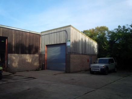 The unit is of steel frame mono pitch design and benefits from an eaves height of 12ft 5'' rising to a maximum of 16ft 10''. There is a roller shutter door 13ft wide by 12ft high as well as a separate personnel door and WC facilities. Externally ther...