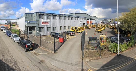 Steel portal frame. Concrete floor. 4 x level access loading doors. Steel profile clad. Two storey offices including welfare areas. Self-contained secure loading yard and separate car park. Sodium high bay lighting. All mains services connected. Eave...