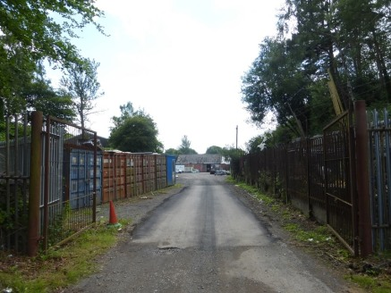UNDER OFFER **** The property provides two detached industrial buildings on a large mostly surfaced site. The front building provides a detached steel clad unit with shutter access to the front....